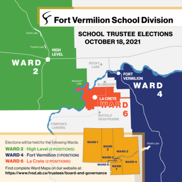 map of wards for trustee election