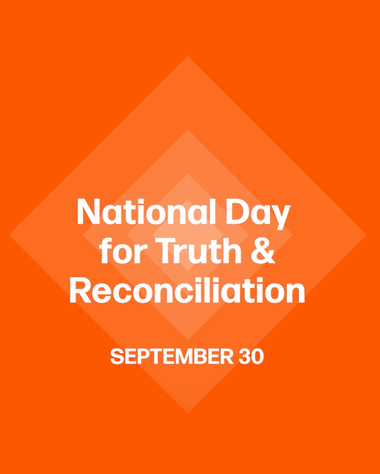 image that reads national day for truth and reconciliation september 30